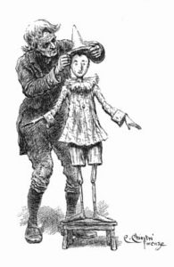Pinocchio Chiostri vêtements