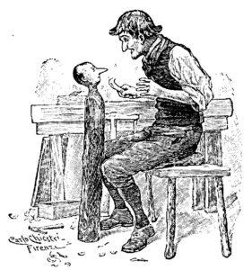 Pinocchio tête Chiostri